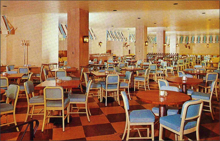 The Patio Coffee Shop Milwaukee Hotel Schroeder 1960s | Flickr