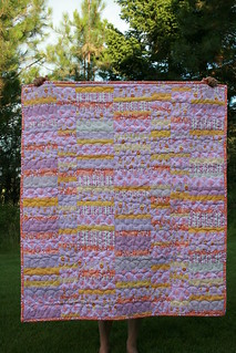 matryoshka strip quilt | by Leigh - leedle deedle quilts