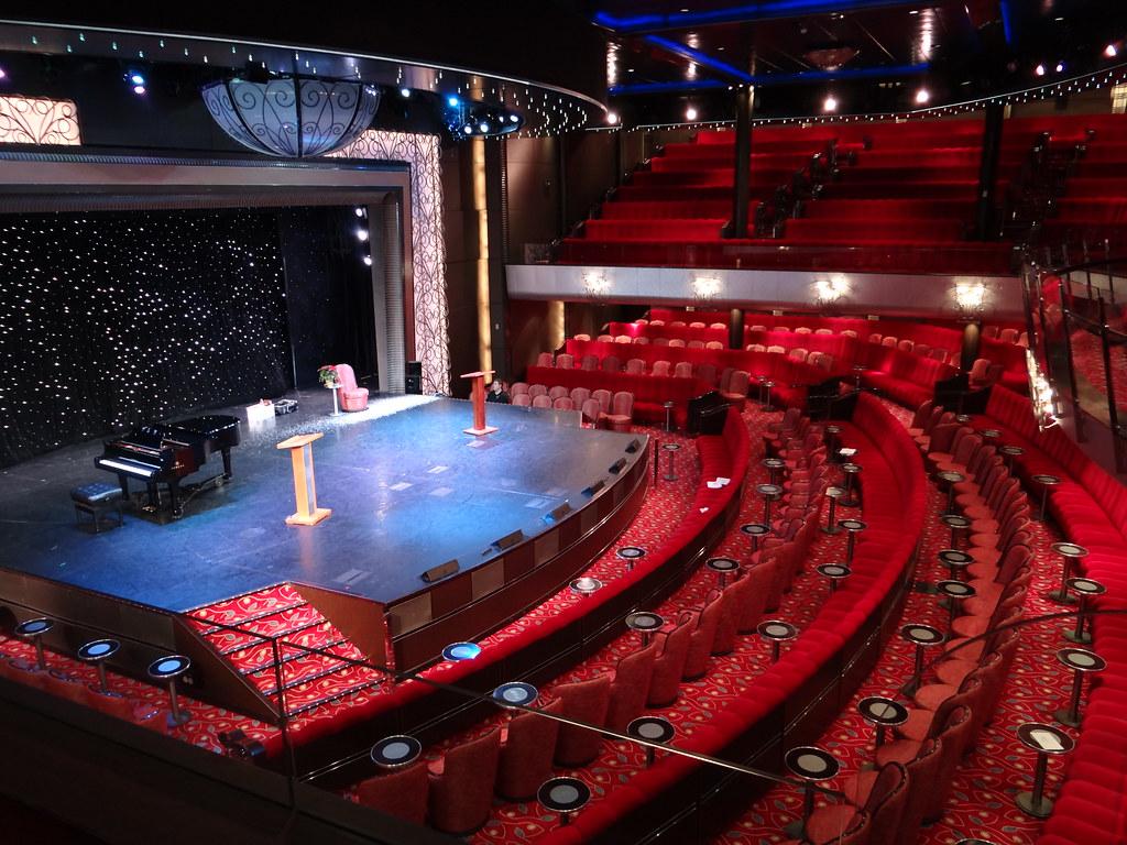 Cunard Queen Mary 2 QM2 Royal Court Theatre | Gary Bembridge | Flickr