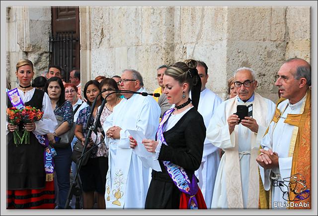 Briviesca Fiestas 2016 Procesión del Rosario y canto popular de la Salve  (13)