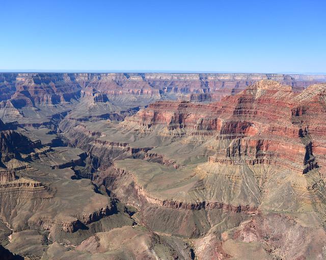 Gran Cañón del colorado, de los lugares más espectaculares que ver en la Costa Oeste de Estados Unidos
