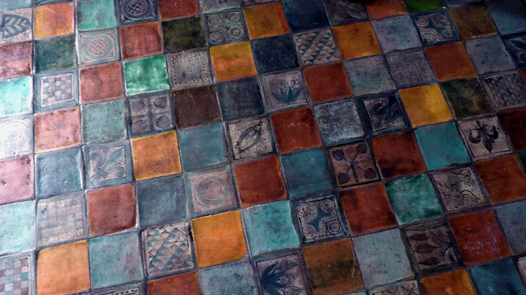 Avignon Papal Palace Pope S Bedroom Tile Floor Renovation