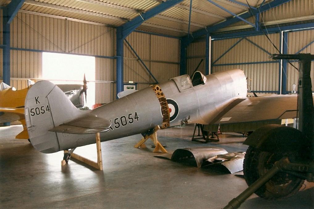 Clive Du Cros Spitfire prototype replica, Frontline Aviati… | Flickr
