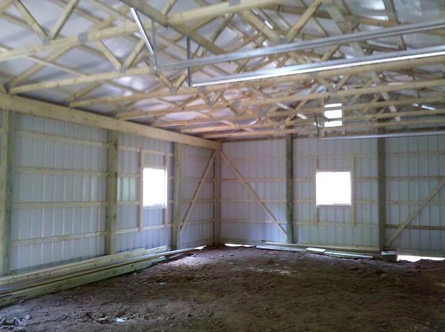 Pole Barn Interior | Flickr - Photo Sharing!