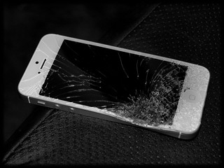 Demolished iPhone5 | by MSVG