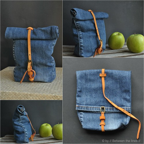 denim snack bag :: a recycling project | by // Between the Lines //