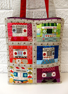 Mix tape bag | by Very Berry Handmade