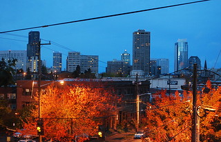Downtown Seattle From the Living Room, 7:30 a.m. 10.28.12 | by JoeInSouthernCA
