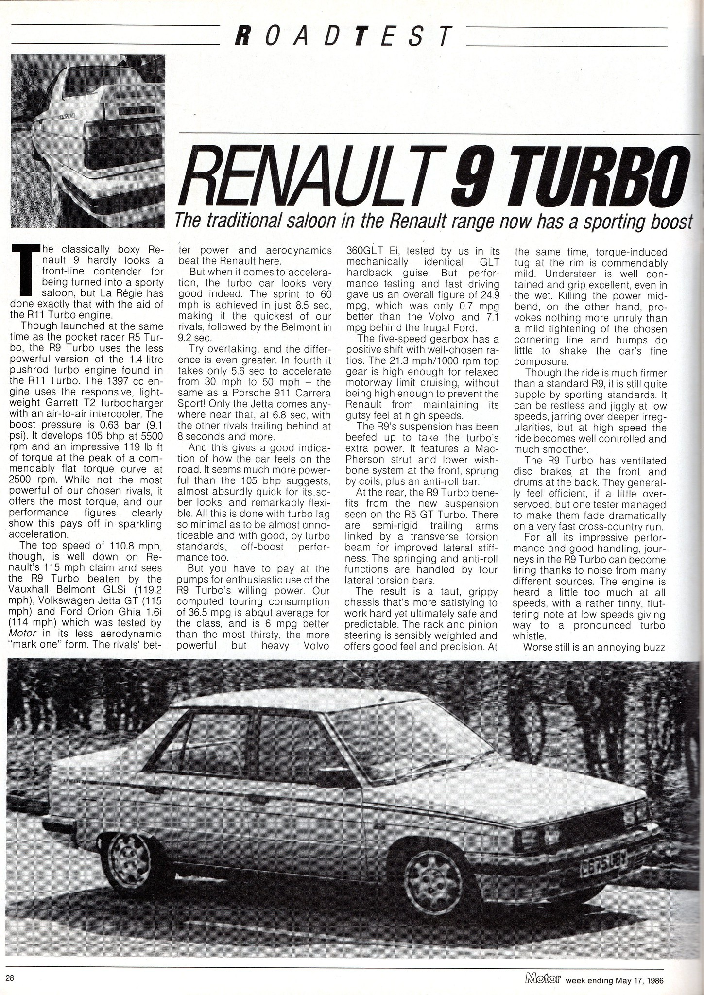 renault 9 turbo review s renaultsportclub co uk