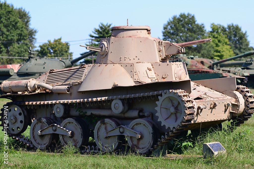 Diesel Fuel Tank >> Type 95 Ha-Go Light Tank | Type 95 Ha-Go Light Tank Specific… | Flickr
