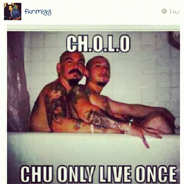 Gay cholo