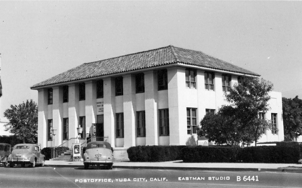 Post Office Yuba City Ca 1940s Alden Jewell Flickr