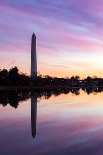 Washington Monument at Sunrise | by Andrew Rhodes Photography