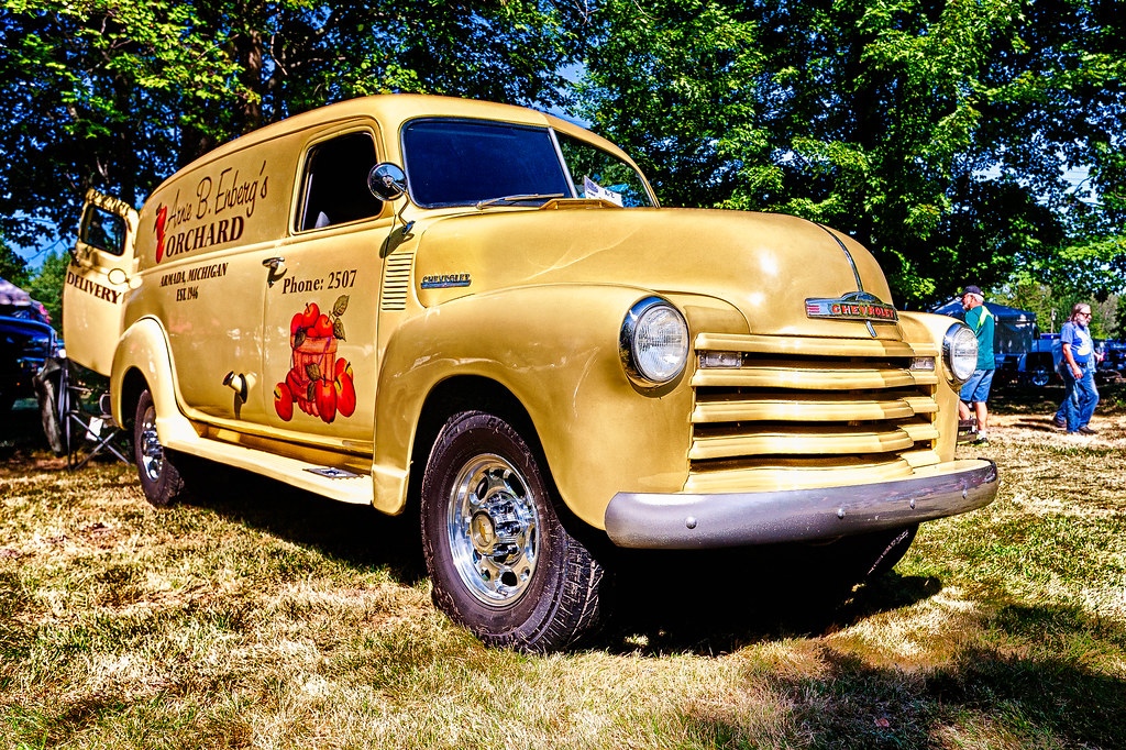 Chevrolet Delivery Truck Deer Acres Car Show At Pinco Flickr - Thomas chevrolet car show