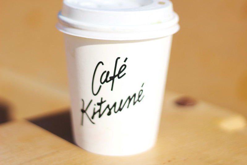 Café Kitsune matcha latte