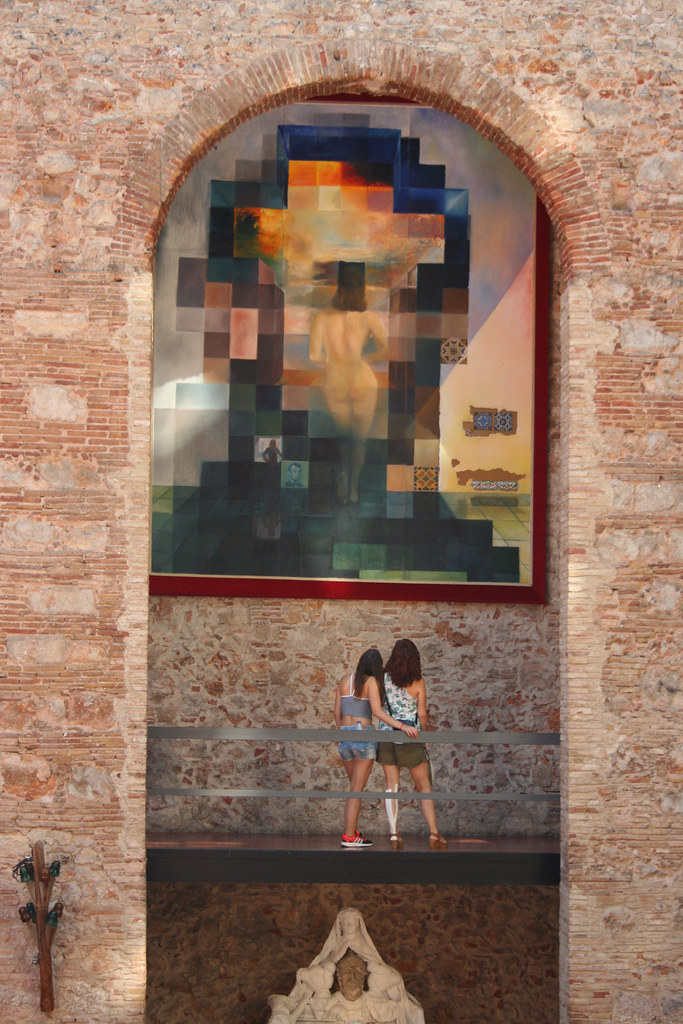 Costa Brava Dali Museum In Figueres 1976 Malte Dali