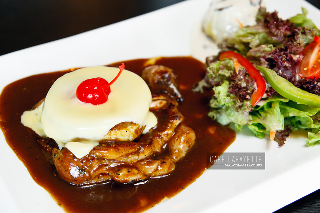 Cafe Lafayette Damansara Uptown chicken chop
