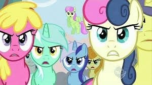 Angry Ponies There Is Cherry Jubilee Lyra Carrot Top