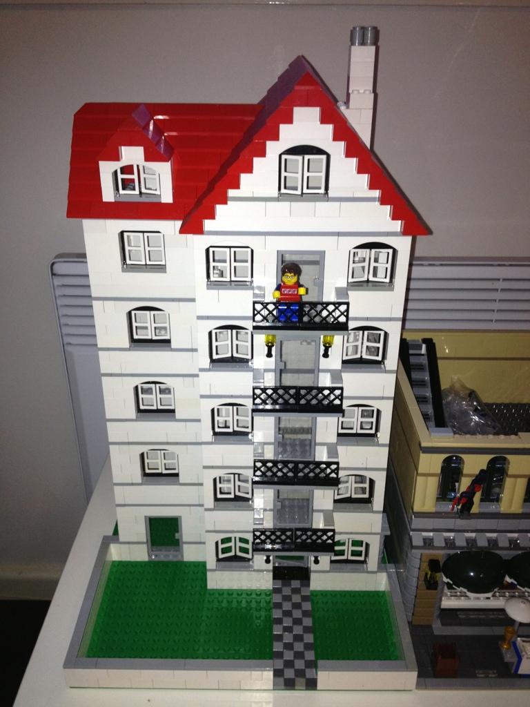 Lego 4956 House X 4 Ljmlego Flickr