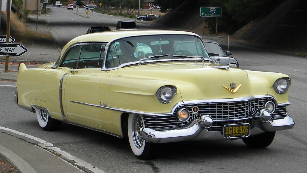 1954 Cadillac Coupe Deville 1g 88 926 1 Photographed