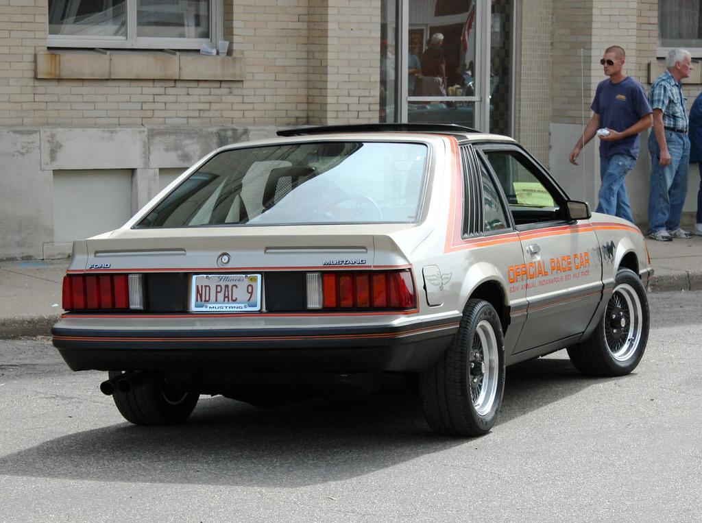 Mustang Pace Car Seats