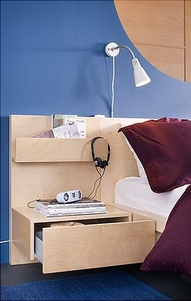 Ikea malm nightstand heath ashli flickr - Ikea bed frame with attached nightstand ...
