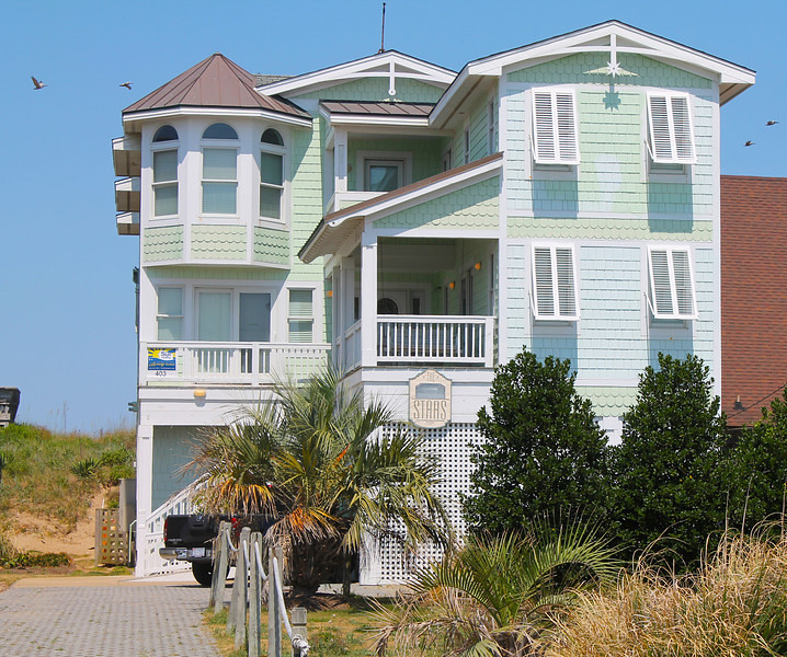 Oceanfront Vacation Condos: The Stars-403 Nags Head, NC Vacation Home Rental