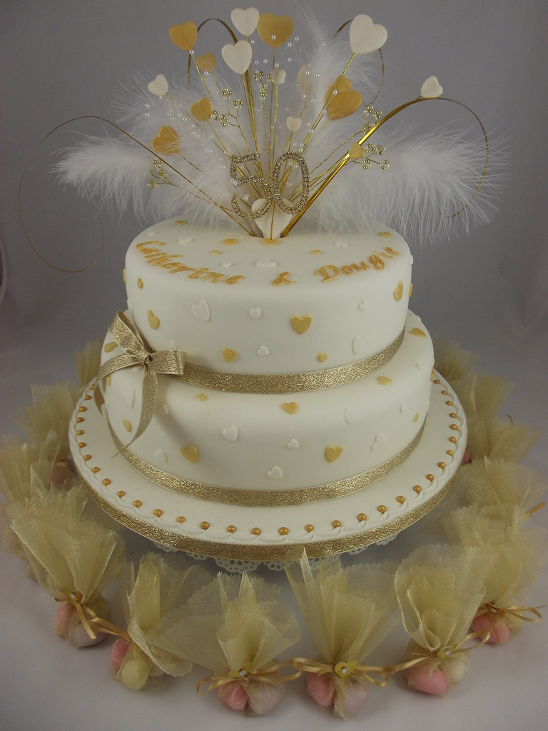 golden wedding cake messages golden wedding anniversary cake sweet treats cakes by 14762
