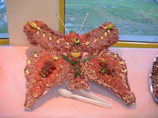 Buffet Froid Sur D Cor Papillon Traiteur N N Flickr