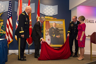 Portrait unveiling | by The U.S. Army