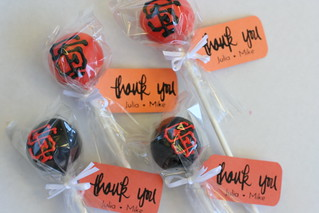 SF Giants Cake Pops | by Sweet Lauren Cakes