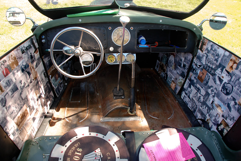 Rat Rod Interior One Of The Most Unique Ideas I Ve Ever