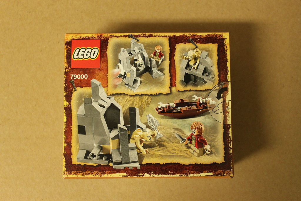 LEGO The Hobbit Riddles For The Ring (79000) Review - The ...