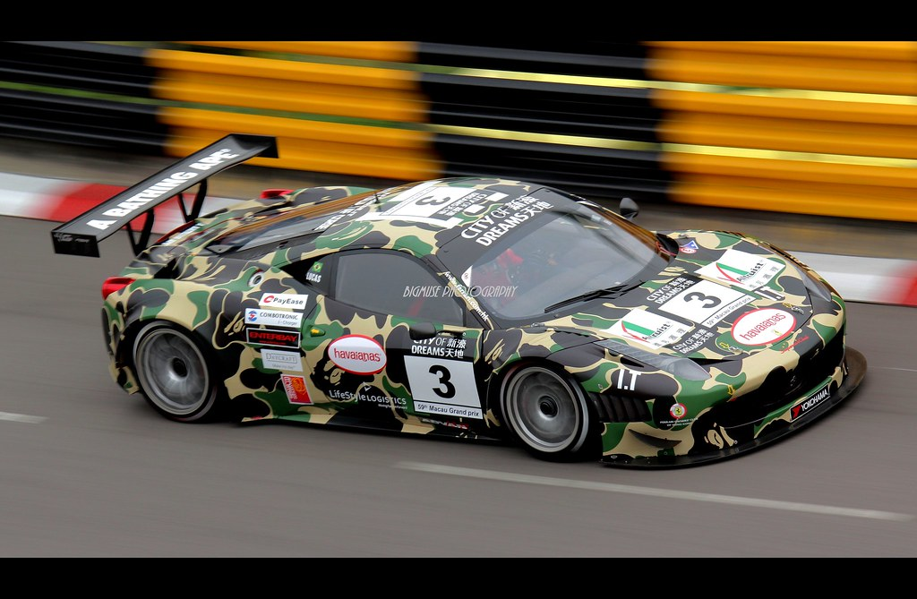 Ferrari 458 Gt3 Macau Gt Cup 2012 59th Macau Grand Prix