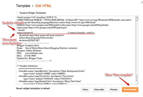 Insert Meta Tag in Template HTML | by sewyerown