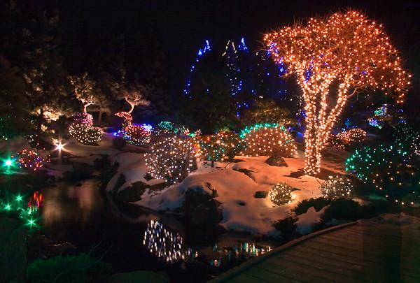 Lights Christmas Lights At The Denver Botanic Gardens Keith Flickr