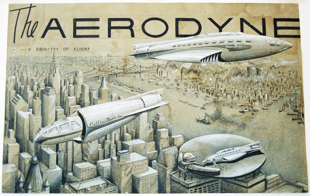 alexander lippisch designed the aerodyne of the future 19 flickr