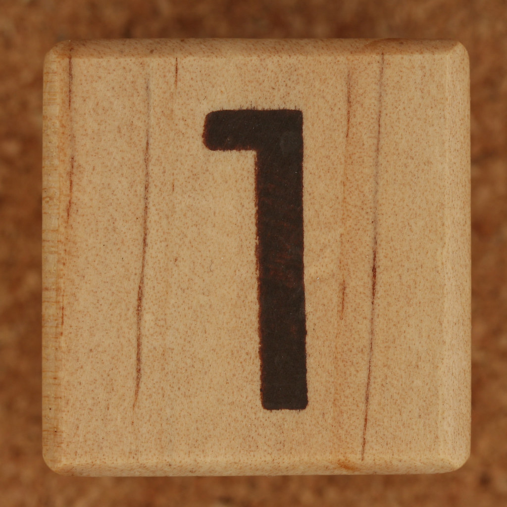 Calendar Wood Block number 1 | Leo Reynolds | Flickr