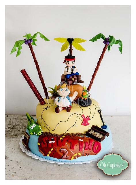 Torta Jake Y Los Piratas De Nunca Jamas Pictures