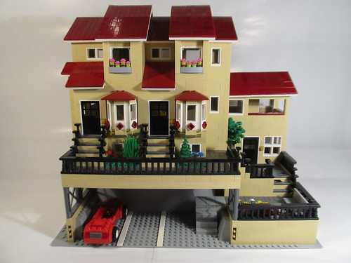 Townhouses a fun little build using this baseplate www for How to start building a house
