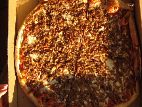 Sausage Pizza from King of Pizza in Cherry Hill | by sameold2010