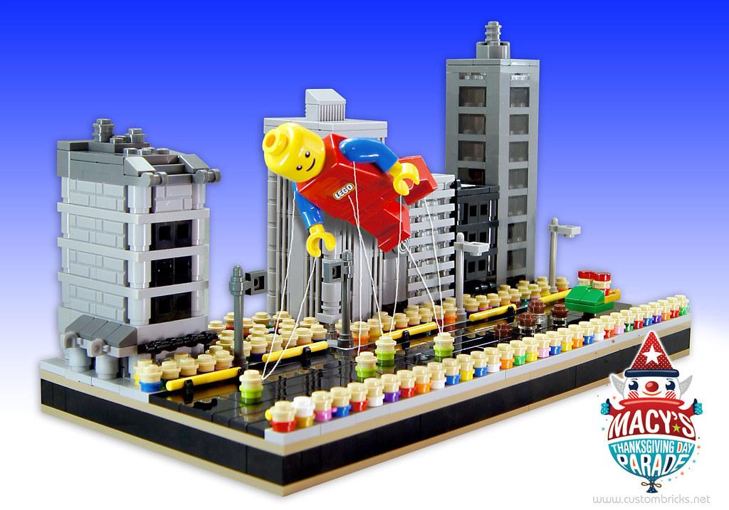 Lego Macy S Thanksgiving Day Parade Tomorrow November