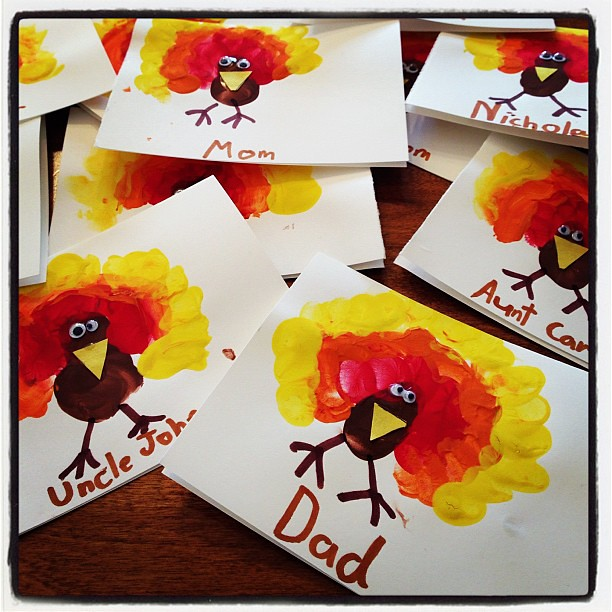 Making Cards Kids Activity