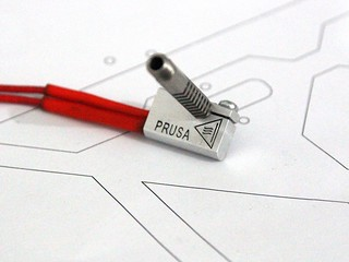 Final Prusa Nozzle heater | by josefprusa