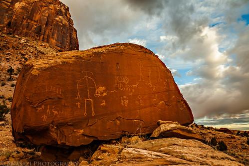Ute Boulder Sunrise