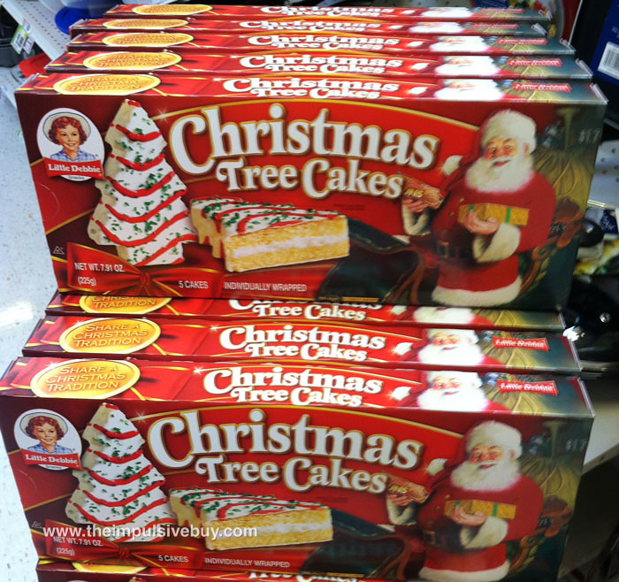 Little Debbie Christmas Tree Cakes theimpulsivebuy Flickr