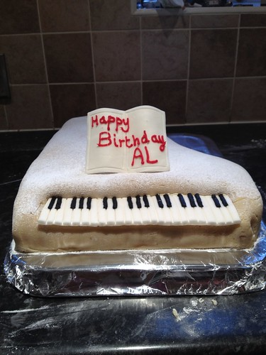 Birthday Cake Piano Theme