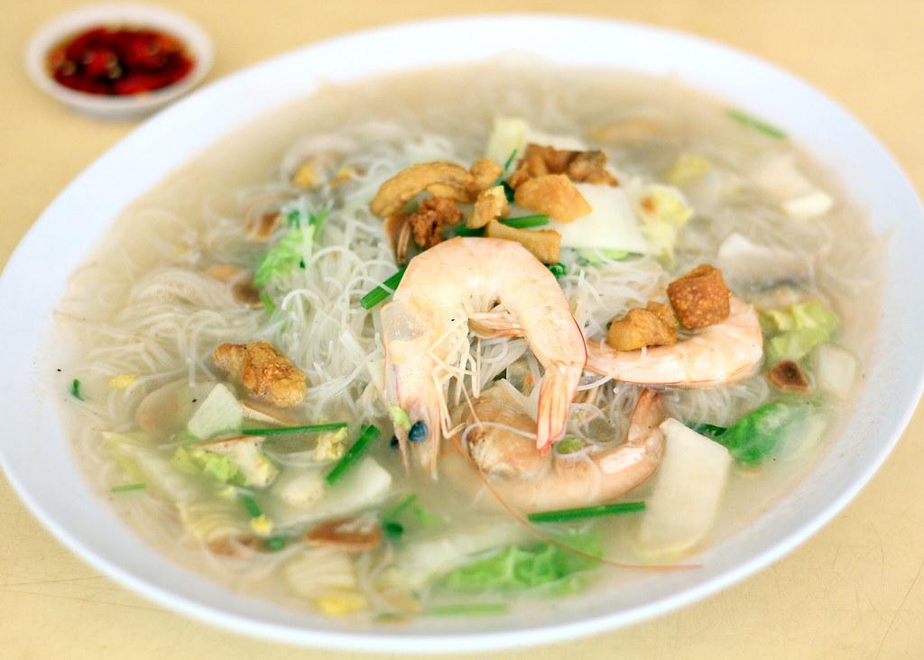 Seafood White Bee Hoon: Woon Woon Pek Beehoon
