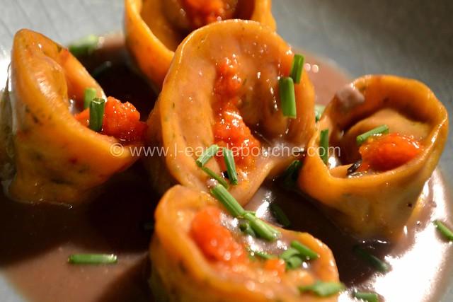 Tortellini Aux Epinards & Ricotta Sauce au Gorgonzola © Ana Luthi Tous droits réservés 054