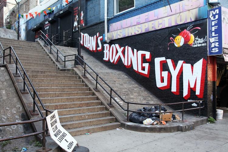The Royal Kingbee mural, John's Boxing Gym, Morris Heights… | Flickr
